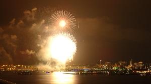 7月17日横浜花火