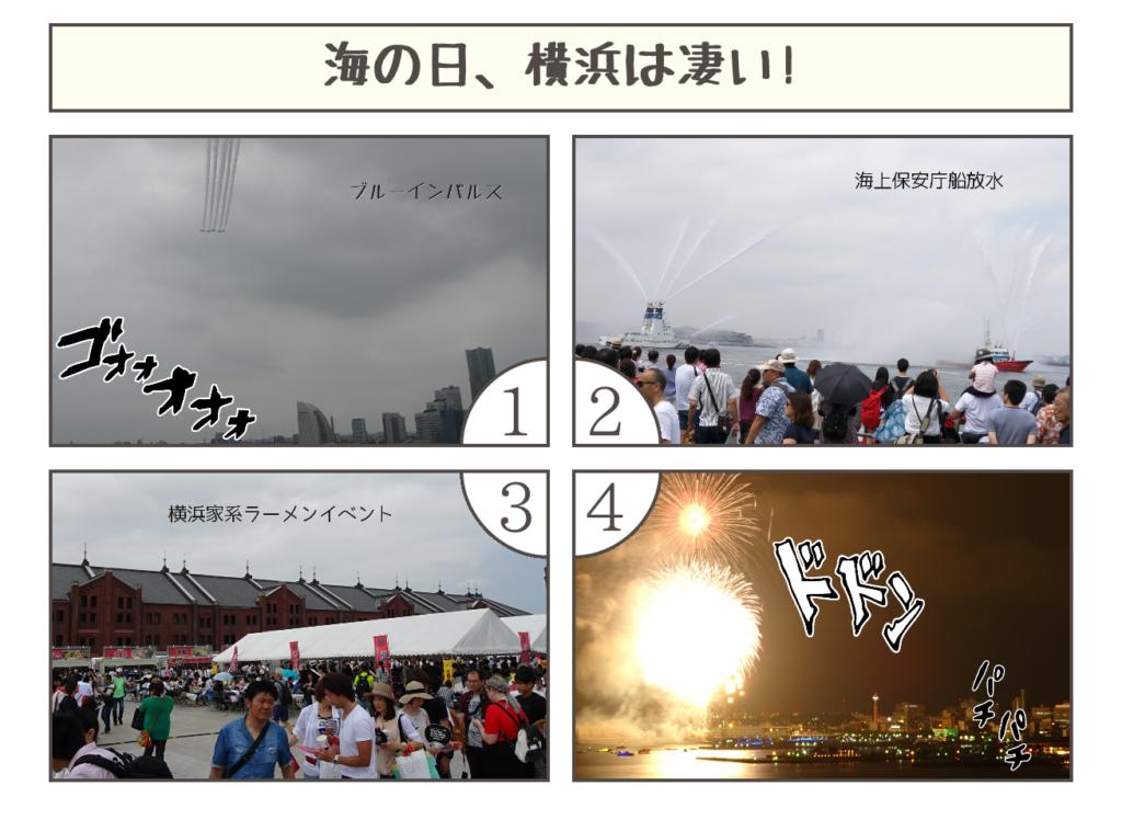 海の日、横浜は凄い!20160716235919